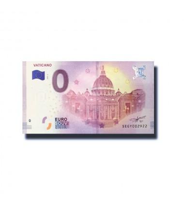 Vatican Vaticano 0 Euro Banknote Uncirculated 004676