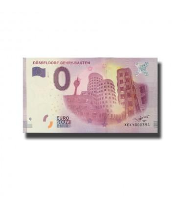 Germany Dusseldorf Gehry - Bauten 0 Euro Banknote Uncirculated 004565