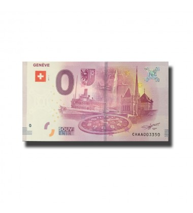 Switzerland Geneve 0 Euro Banknote Uncirculated 004566