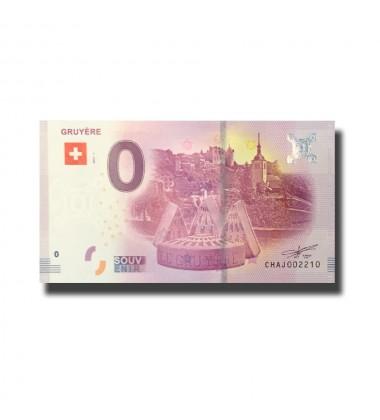 Switzerland Gruyere 0 Euro Banknote Uncirculated 004569