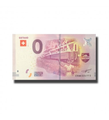 Switzerland Gstaad 0 Euro Banknote Uncirculated 004570