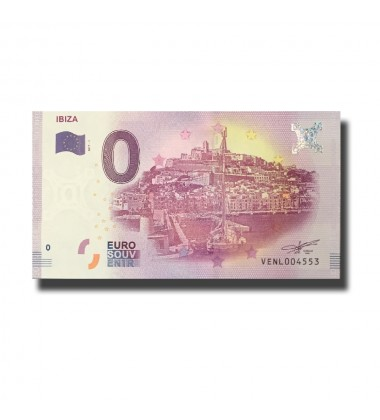Spain Ibiza 0 Euro Banknote Uncirculated 004571