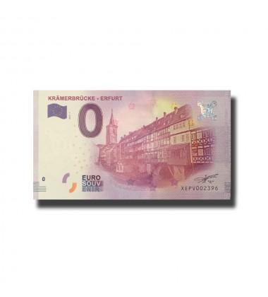 Germany Kramerbrucke - Erfurt 0 Euro Banknote Uncirculated 004573