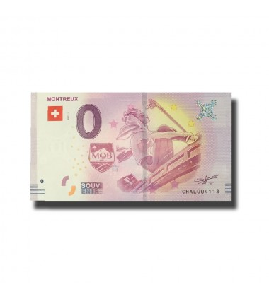 Switzerland Montreux 0 Euro Banknote Uncirculated 004578