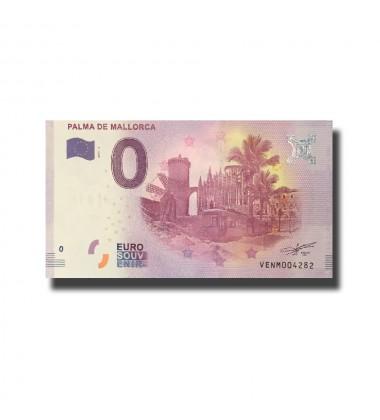 Spain Palma De Mallorca 0 Euro Banknote Uncirculated 004581