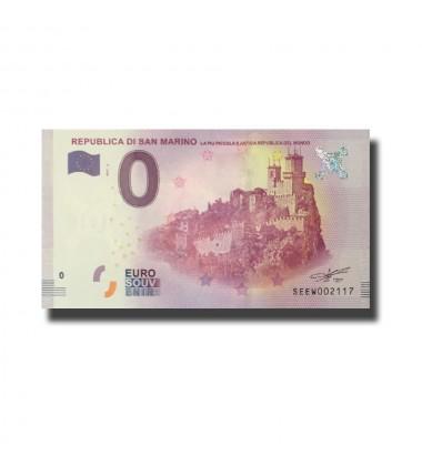 San Marino Republica Di San Marino 0 Euro Banknote Uncirculated 004583