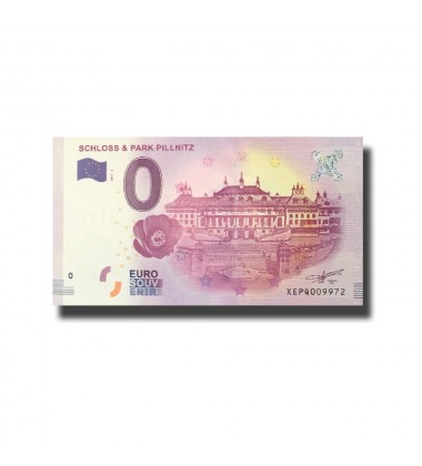 Germany Schloss & Park Pillnitz 0 Euro Banknote Uncirculated 004585