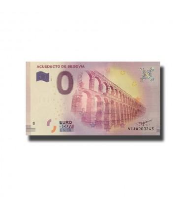 Spain Acueducto De Segovia 0 Euro Banknote Uncirculated 004658