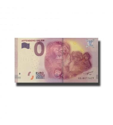 Germany Affenberg Salem 0 Euro Banknote Uncirculated 004659