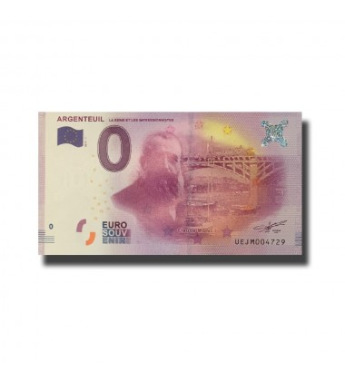 France Argenteuil 0 Euro Banknote Uncirculated 004662