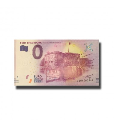 Belgium Fort Breendonk 0 Euro Banknote Uncirculated 004665