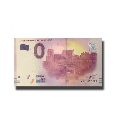Germany Heidelberger Schloss  0 Euro Banknote Uncirculated 004667