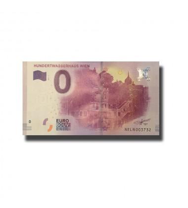 Austria Hundertwasserhaus Wien 0 Euro Banknote Uncirculated 004668