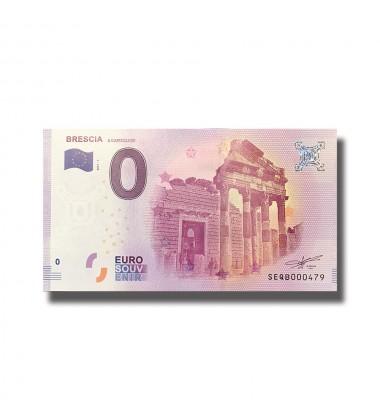 Italy Brescia 0 Euro Banknote Uncirculated
