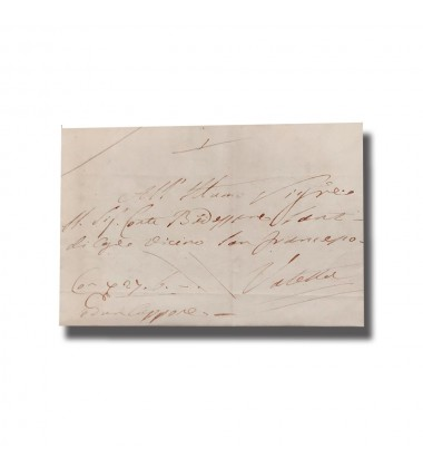1833 Entire Letter From Gozo To Valletta