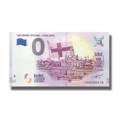 Finland 2018 Helsinki Suomi - Finland 0 Euro Banknote Uncirculated 004802