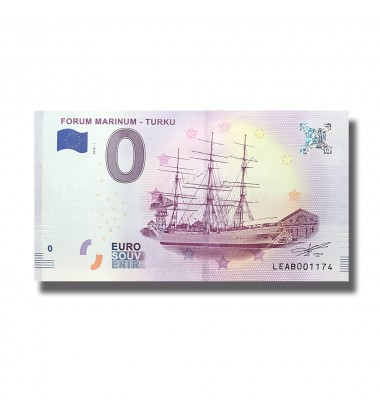 Finland 2018 Forum Marinum - Turku 0 Euro Banknote Uncirculated 004804