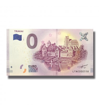 Lithuania 2018 Trakai 0 Euro Banknote Uncirculated 004807