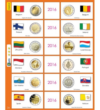 €2 Euro Commemorative Page 26