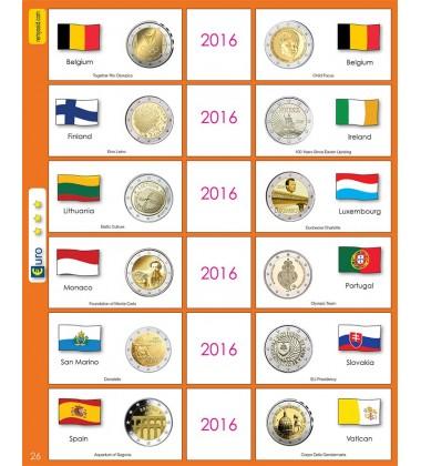 €2 Euro Commemorative Page 26