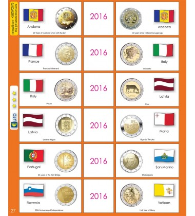 €2 Euro Commemorative Page 27