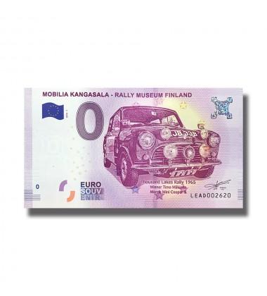 France 2018 Mobilia Kangasala - Rally Museum Finland 0 Euro Banknote Uncirculated 004843