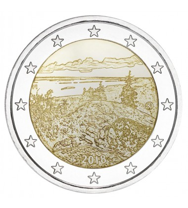 2018 FINLAND KOLI National Park 2 EURO COMMEMORATIVE COIN