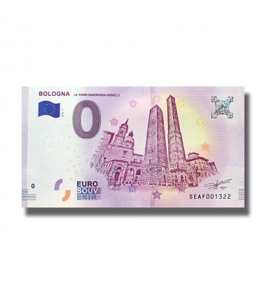 ITALY 2018 BOLOGNA 0 EURO BANKNOTES UNCIRCULATED