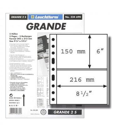 Leuchtturm Grande S Black Pages FDC Large Format