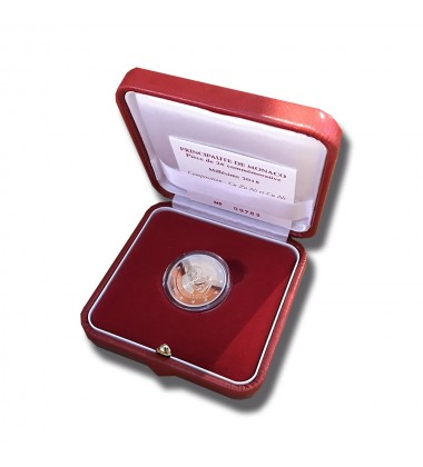 2018 MONACO FRANCOIS JOSEPH BOSIO PROOF COIN