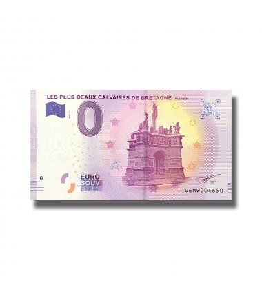 France 2018 Les Plus Beaux Calvaires De Bretagne 0 Euro Souvenir Banknote 005108