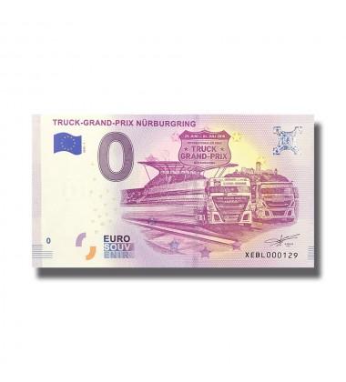 Germany 2018 Truck Grand Prix Nürburgring 0 Euro Souvenir Banknote 005110