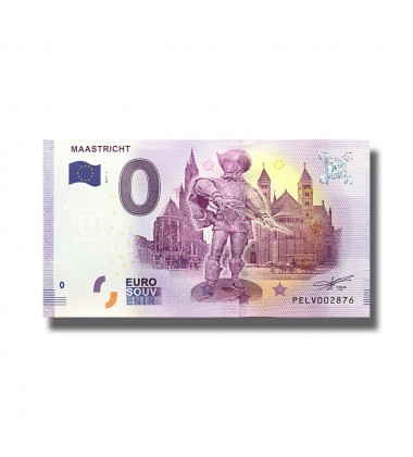 0 Euro Souvenir Banknote Maastricht 2018 Netherlands 005122