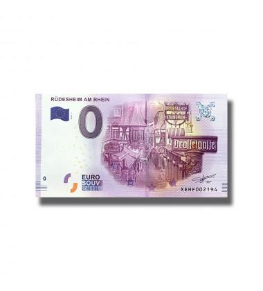 0 EURO SOUVENIR BANKNOTE RUDESHEIM AM RHEIN 2016 Germany XEHF