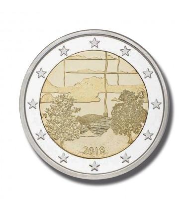 2018 FINLAND SAUNA CULTURE 2 EURO COMMEMORATIVE COIN