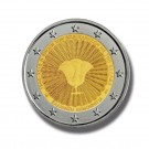 2018 GREECE 70TH ANN UNION DODECANESE 2 EURO COMMEMORATIVE COIN