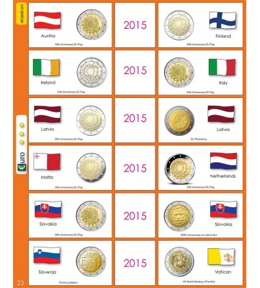 €2 Euro Commemorative Page 23