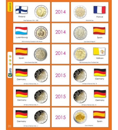 €2 Euro Commemorative Page 20