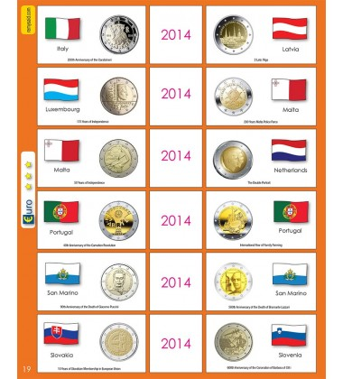 €2 Euro Commemorative Page 19