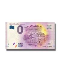 0 Euro Souvenir Banknote Malta Mdina The Silent City FEAE