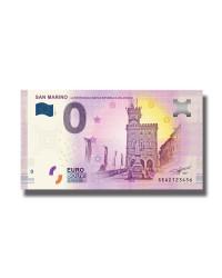 0 Euro Souvenir Banknote San Marino Piccola Republica SEAZ