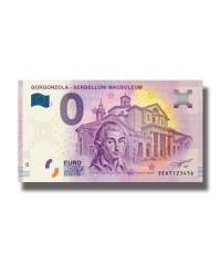 0 Euro Souvenir Banknote Italy Gorgonzola Serbelloni Mausoleum SEAT