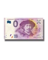 0 Euro Banknote Rembrandt Van Rijn - Commemorative Year