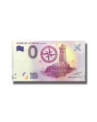 0 EURO SOUVENIR BANKNOTE PHARE DE LA VIEILLE RAZ DE SEIN 2017 FRANCE UEPL