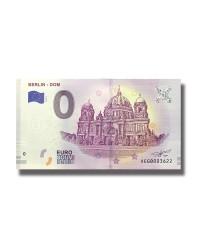 0 EURO SOUVENIR BANKNOTE BERLIN DOM 2019 GERMANY XEGB