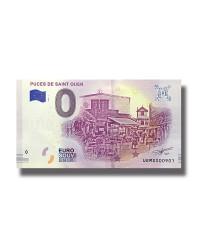 0 EURO SOUVENIR BANKNOTE PUCES DE SAINT OUEN UEMS 005659