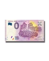 0 Euro Souvenir Banknote Brescia - Roma La Corsa Più Bella Del Mondo 2019 Italy
