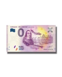 0 Euro Souvenir Banknote Curaçao Willemstad Unesco World Heritage 2019 PEAF