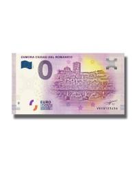 0 EURO SOUVENIR BANKNOTE ZAMORA CIUDAD DEL ROMANICO 005682 VECG