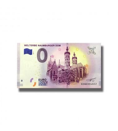 0 Euro Souvenir Banknote Welterbe Naumburger Dom Germany 2019-1 XEGK